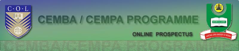 Noun Cemba and Cempa Programme
