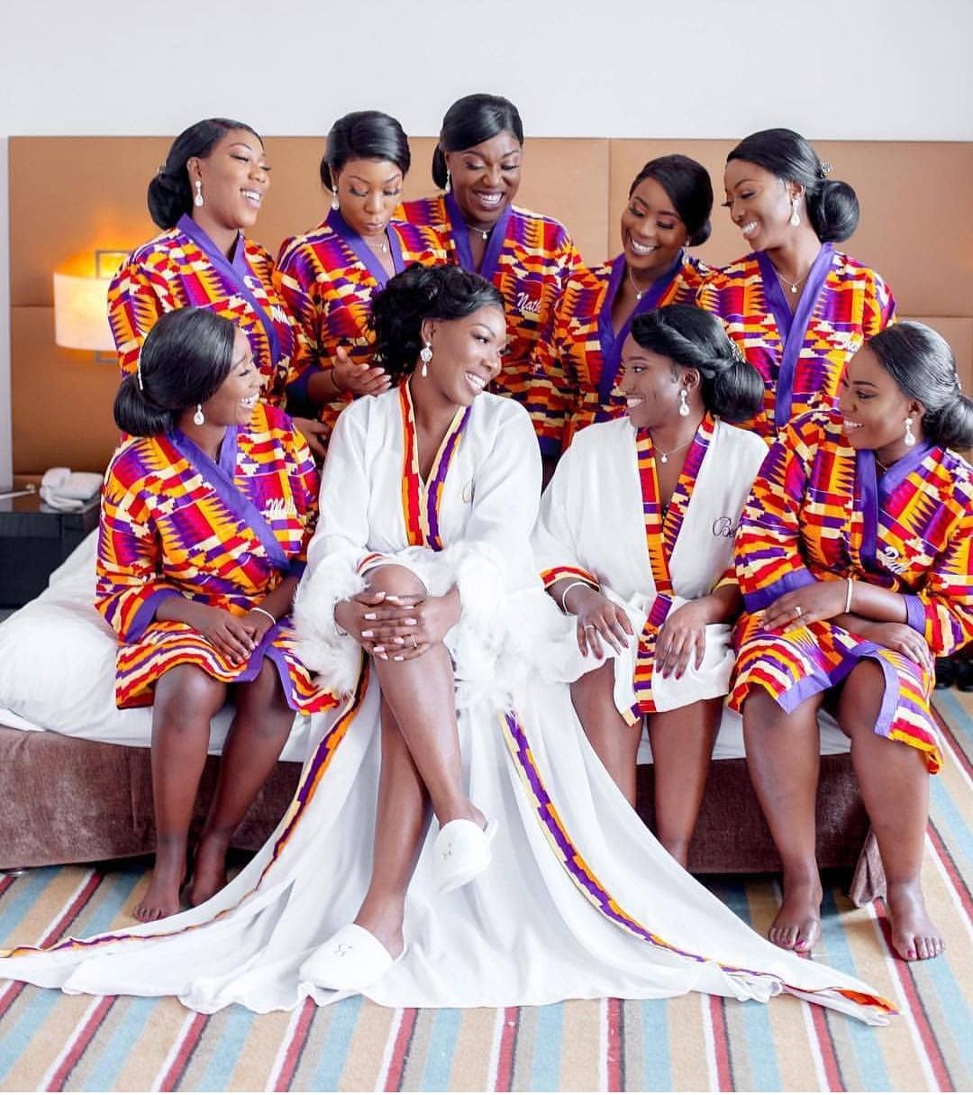 Ankara Styles For Bridal Shower