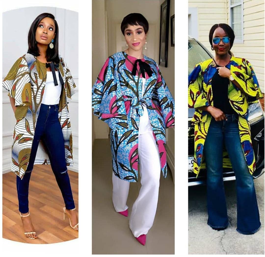 ankara kimono jackets styles