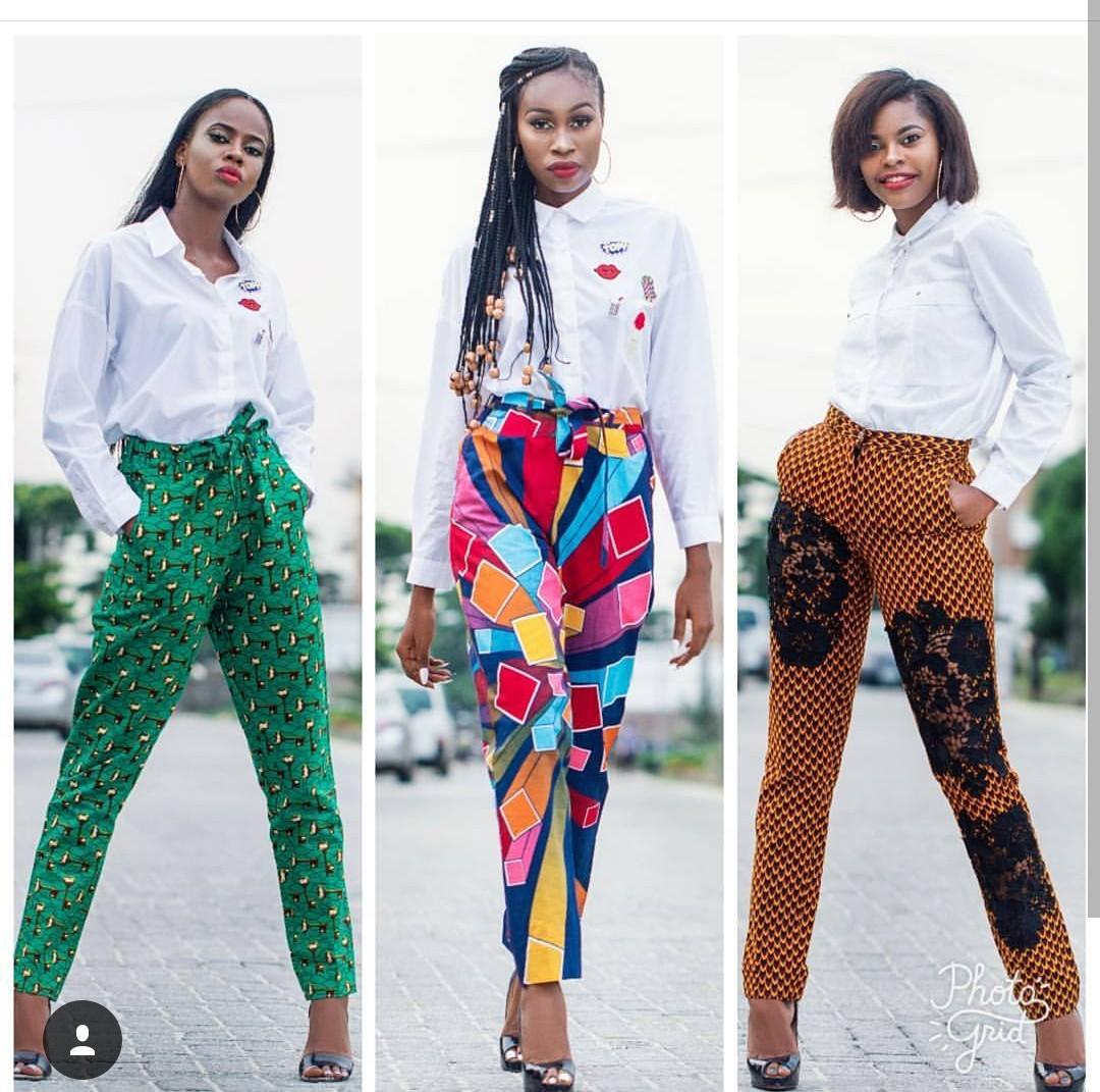 Ankara Trouser Styles