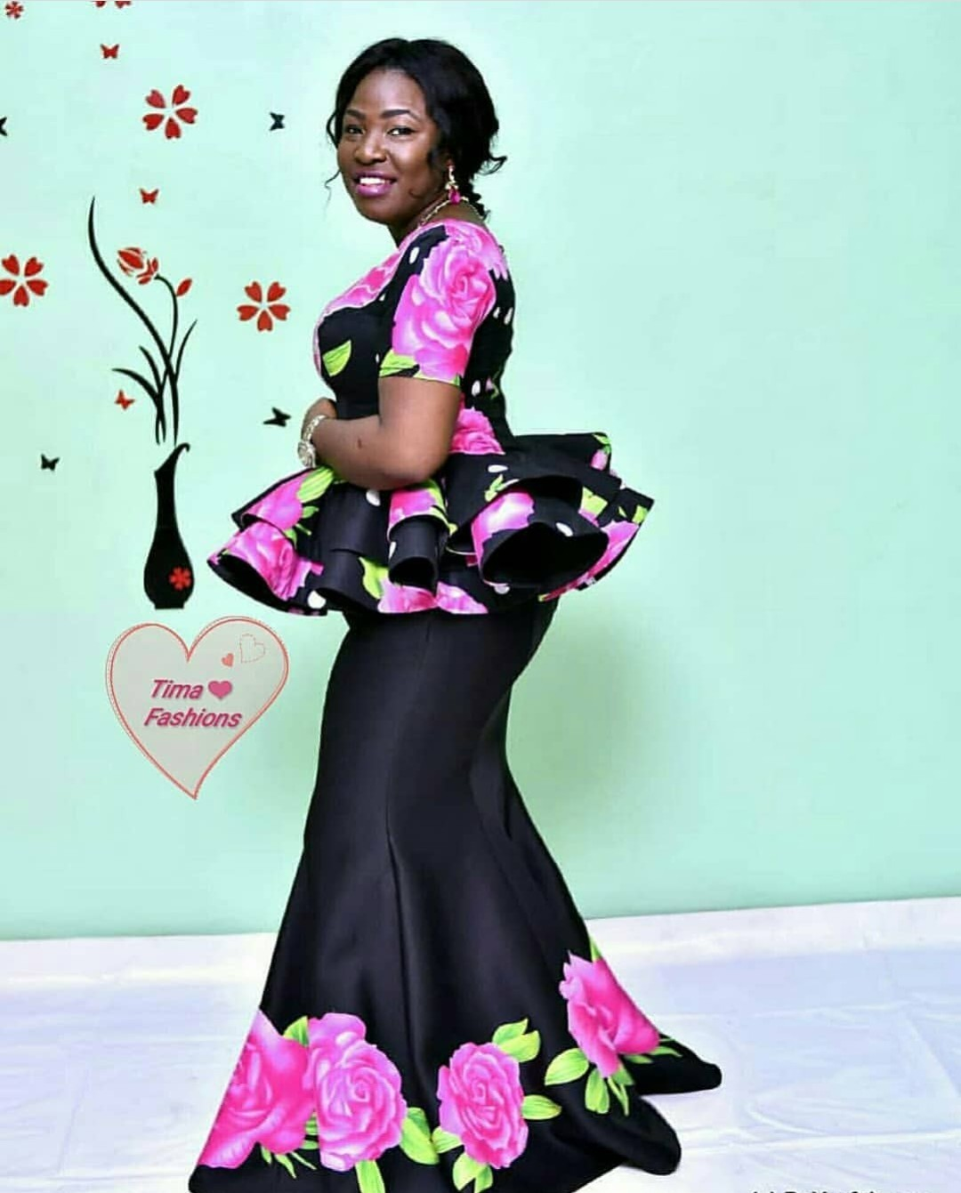 Floral Scuba/Noeprene Fabric Styles