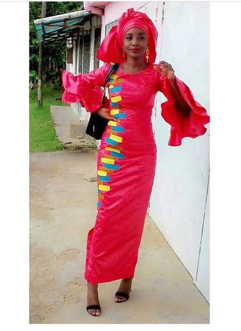 guinea gown style