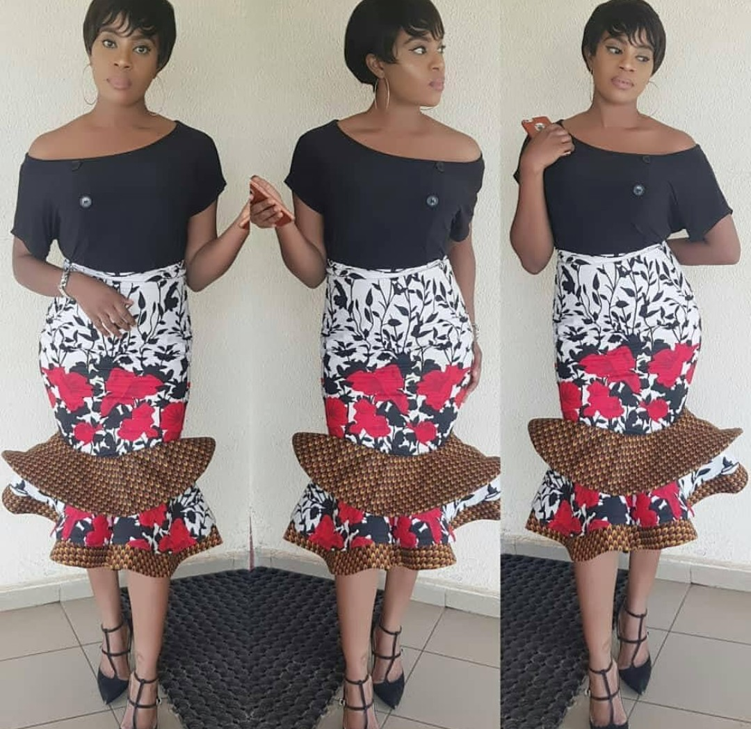 Ankara Skirt Styles