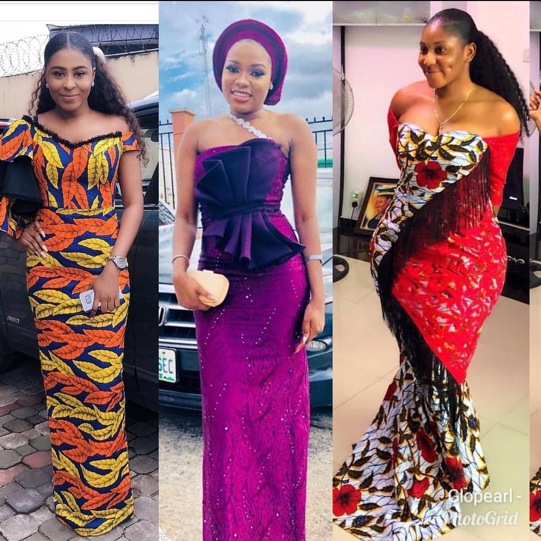 Nigerian Gown Styles